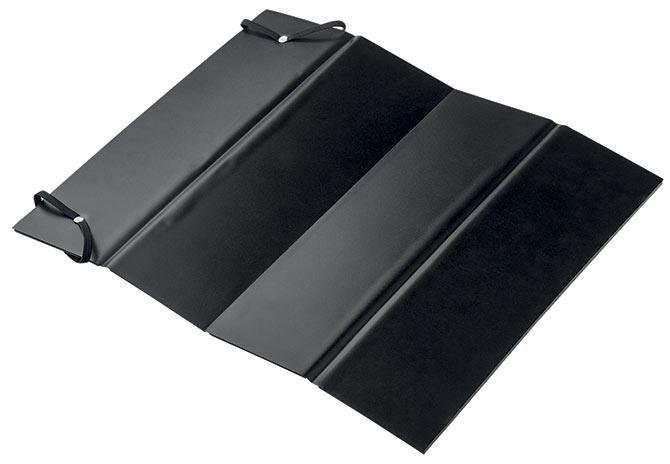 Pěnový termoizolační podsedák skládací Adodo 6397, 38 x 29 cm, černá