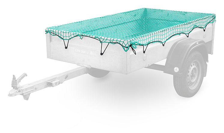 Síť na přívěsný vozík 02226 1,5x2,20 m, Compass