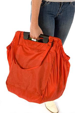 ARIEN  - nákupní taška do vozíku červená