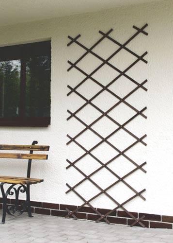 Mřížka na stěnu C palisandr