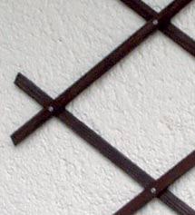 Dřevěná mřížka A palisandr