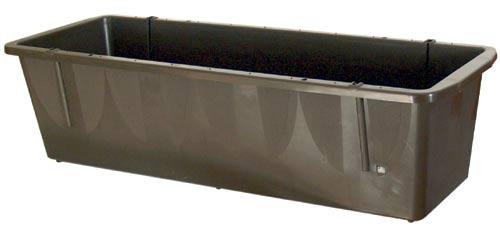 Samozavlažovací truhlík Frajman 57 cm, hnědá