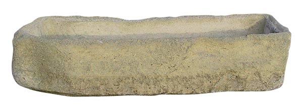 Žlab čtyřhranný 66 x 22 cm, v.14 cm, písková - betonové truhlíky, Fortel