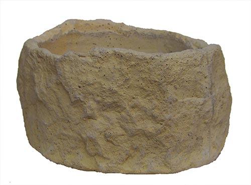 Žlab kruhový průměr 29 cm x 16 cm, písková, Fortel