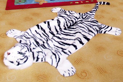 Předložka Tygr bílý