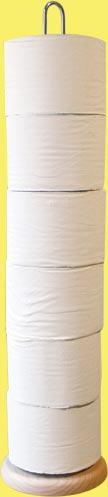 Stojan na WC - stojan na toaletní papír