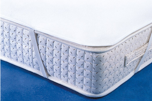 Chránič matrace, bílá, 100 x 200 cm
