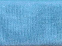 Prostěradlo do postýlky jersey 70 x 140 cm, sv. modrá, Kamilka