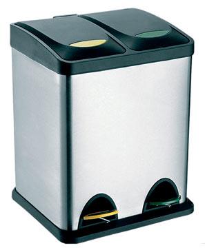 Koš na tříděný odpad - 2 x 8L, TORO
