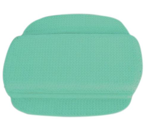 Gumová opěrka šíje do vany, zelená