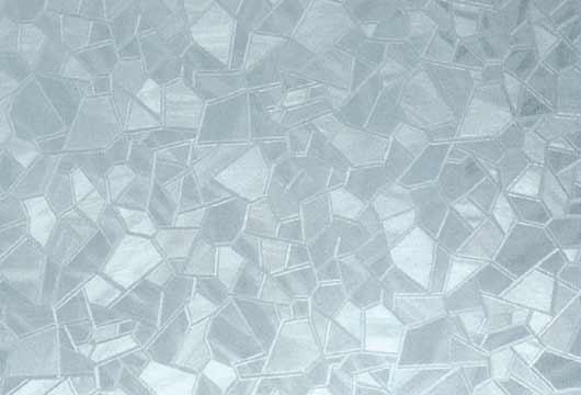 Statická fólie na okna do koupelny 338-0019 Ledové kostky