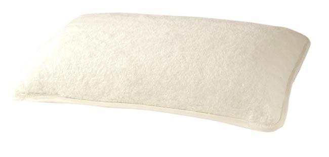 Polštář z ovčí vlny 40 x 60 cm, bílý
