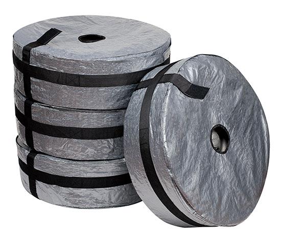 Ochranný obal na pneumatiky 13 - 16, sada 4 ks