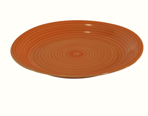 Talíř 590161 26 cm, oranžová