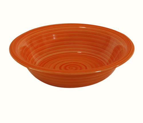 Talíř hluboký - oranžová