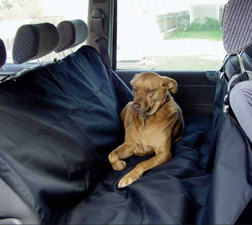 Ochranný povlak na zadní sedadlo do auta pro převoz zvířat a věcí Ado-03611, 145x165 cm