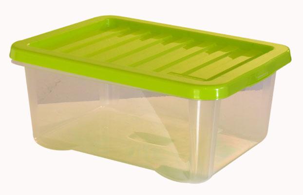 Úložný box s víkem QUASAR 18 L