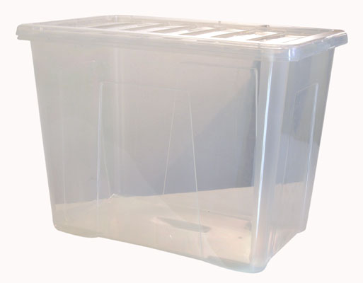 Box s víkem QUASAR 80 L.