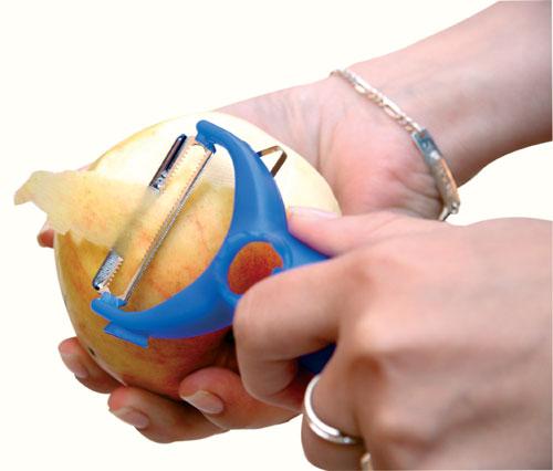 Škrabka multi na brambory a ovoce Piraňa, Reproplast