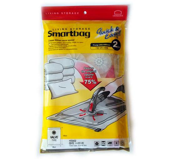 Vakuové pytle na oblečení Smartbag 95 x 100 cm, Lock and Lock