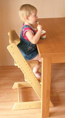 Dětská rostoucí židle Klára bez podušky