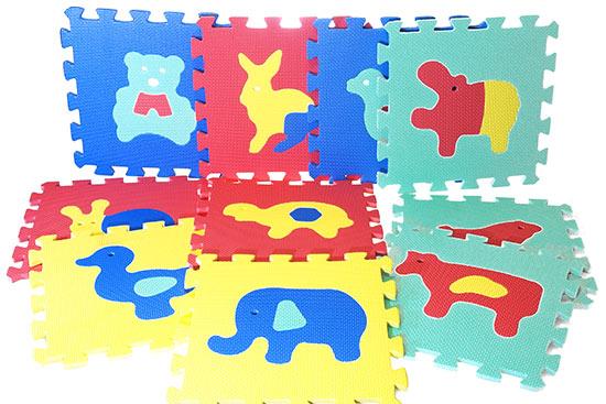 Pěnové puzzle Zvířata