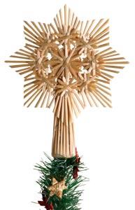 Vánoční hvězda slaměná