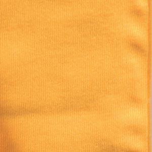 Jersey povlak na polštář 40 x 40cm, žlutá