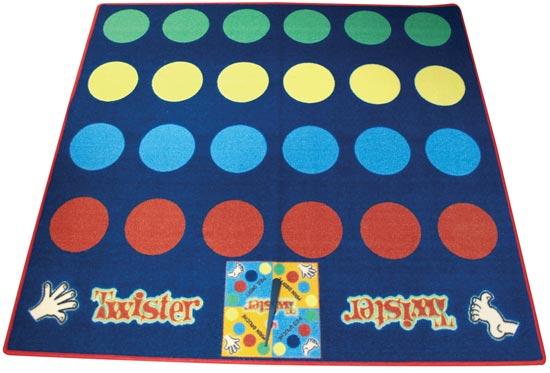 Dětský hrací koberec Twister