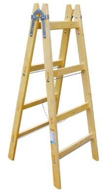 Štafle dřevěné Standart 4 příčky