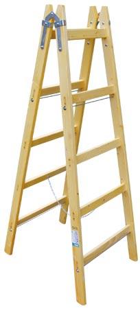 Štafle dřevěné Standart 5 příček