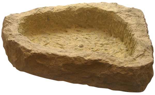 Zahradní nádoby -  betonový žlab nepravidelný II.