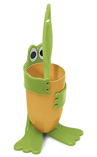 WC kartáč Froggy ve stojanu