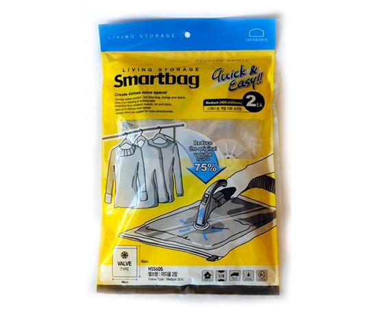 Vakuové pytle na oblečení Smartbag 48 x 60 cm, Lock and Lock