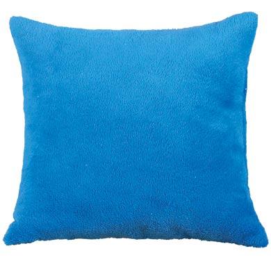 Polštářek Mazlík 38 x 38 cm, modrá