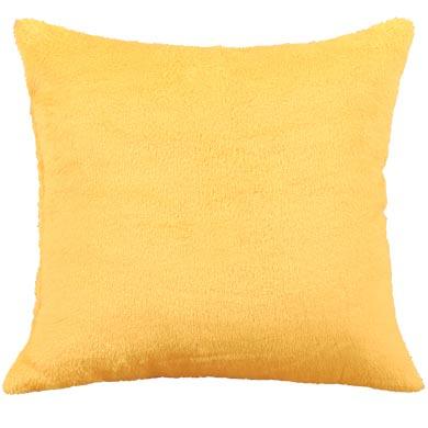 Polštářek Mazlík 38 x 38 cm, žlutá