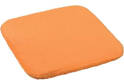 Sedáky na židle oranžová 38 x 38 cm