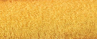 Ručník KAMILKA proužek 50 x 100 cm, žlutá