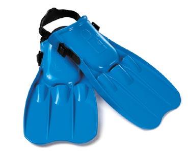 Plavecké ploutve velikost 41 – 45 - dětské ploutve