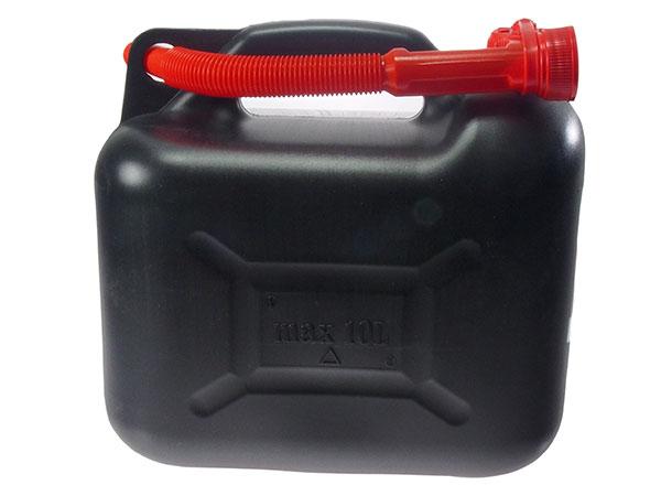 Plastový kanystr na benzín PHM 10l, Fortel