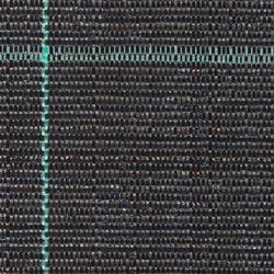 Tkaná PP textilie, černá, vel. 1,5 x 15 m.