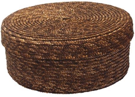 Chlebník Retro polstrovaný kulatý s ubrouskem pr. 26 cm, Fortel