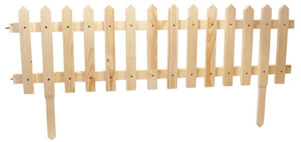 Dřevěný plot ŠPICE - ploty dřevěné přírodní