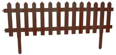 Dřevěný plot ŠPICE mořený, tmavý