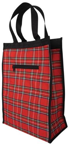Nákupní taška káro 20 L / 5 kg