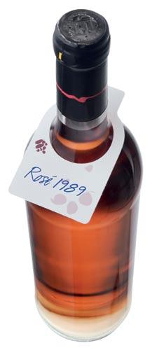 Visačky na víno 50 ks