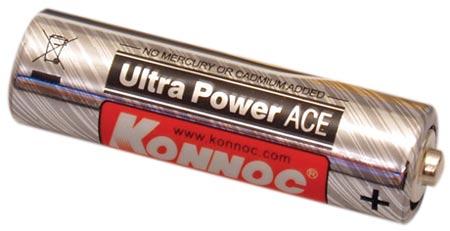 Alkalická baterie typ AA / LR6 – tužková