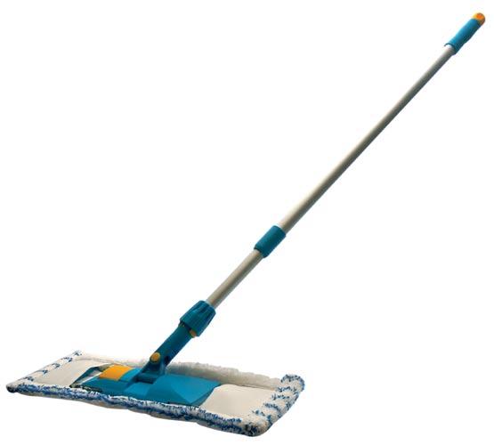 Mop na podlahu mikrovlákno 40 cm, teleskopická tyč 42001, TORO