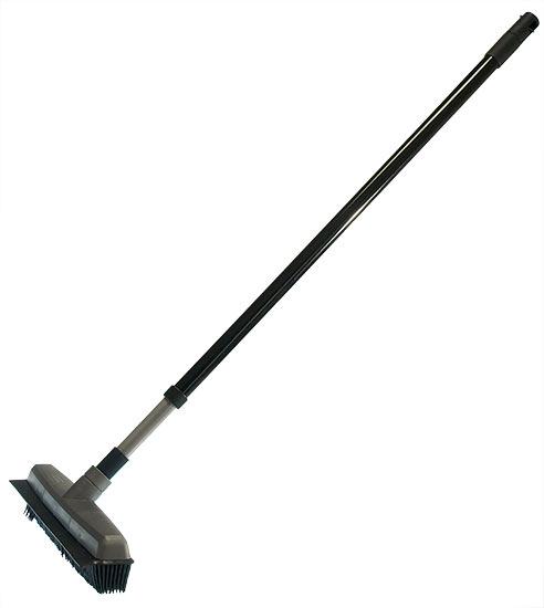 Gumový smeták na podlahu 30 cm, teleskopická tyč 120 cm