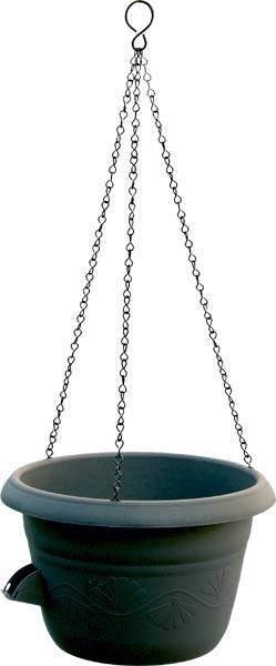 Žardina samozavlažovací Siesta + kov. závěs - antracit